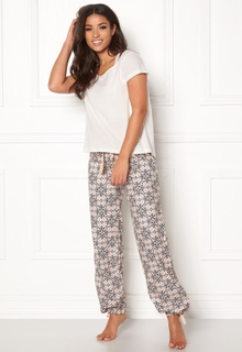 Odd Molly Sleepy Molly Pyjamas Set Light Chalk M (2)