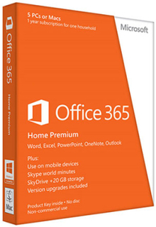 Microsoft Office 365 Home - 30 enheder / 6 Users