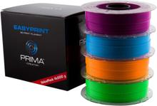 PrimeCreator EasyPrint Neon PLA Filament för 3D-Skrivare, lila/blå/ora