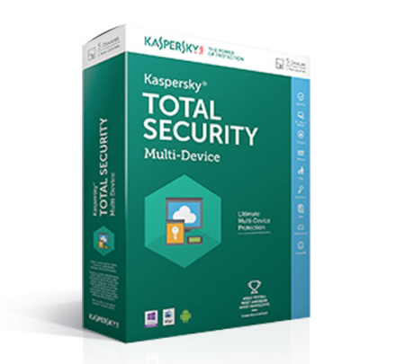 Kaspersky Total Security Multi-Device 2019 - 3 enheter