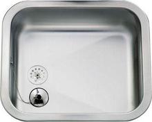 Franke Eurodomo EK400 Kjøkkenvask 44,5x38,5 cm, m/propp og kjetting, Rustfritt stål med Satin glans