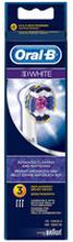 3D White Borsthuvud för Oral-B eltandborste