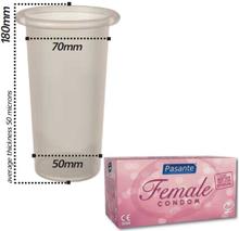 Pasante Female Condoms 1 styck kondom till kvinnor