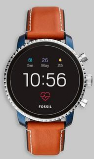 Fossil Fossil Smart FTW4016 Brown/Brown Brun