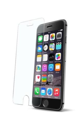 Cellularline Second Glas, hårt skyddsglas till iPhone 6/6S
