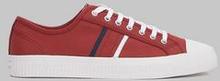 Jim Rickey Sneakers Tropy Canvas Woodland Camo Röd