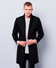 William Baxter Rock Dean Wool Coat Svart