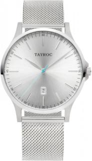 Tayroc TXM106 Sølv/Sølv Mesh Iconic 42 mm herreur