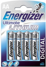 Energizer Ultra Lithium AA batterier 4-pack
