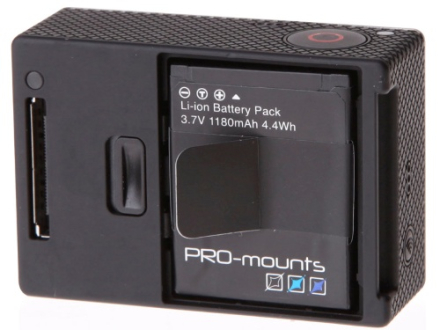 PRO-Mounts Batteri HERO4