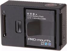PRO-Mounts Batteri HERO4