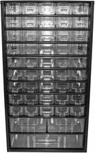 Skandia opbevaringssystem 48 skuffer til små dele 30x15x55,1 cm 1047727