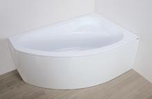 Hörnbadkar högermodell - Eko Plus Djup 39cm