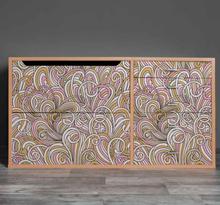 Stickers voor op meubels Kallax abstract