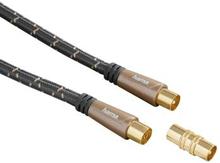 HAMA Kabel Antenn 120dB Svart 3m