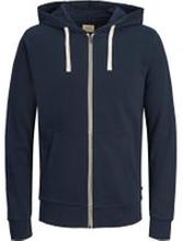 JACK & JONES Bekväm Sweatshirt Man Blå