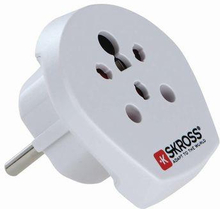 Skross Rese Adapter India / Israel / Denmark to Europe
