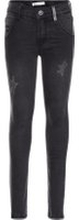 NAME IT Stretchiga Skinny Fit-jeans Man Grå