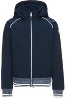 NAME IT Kids Alfa Softshell Jacket Man Blå