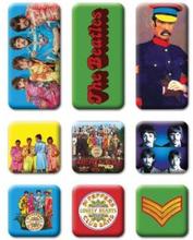 The Beatles: Fridge Magnet Set/Sgt Pepper