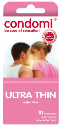 10 stk. CONDOMI - Ultra Thin Kondomer