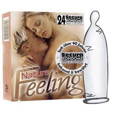 24 stk. Secura - Nature Feeling Kondomer