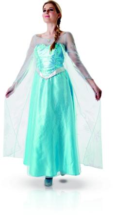 Elsa Frozen - kostume voksen - Vegaoo.dk