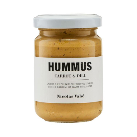 Nicolas Vahé Gulerod & Dild Hummus