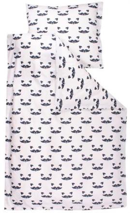 Økologisk Baby sengetøj - Freds World - 70x100 cm - Vaskebjørn - Home-tex