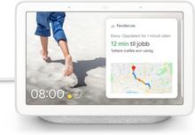 Google Nest Hub Smarte hjem-kontroller Kritthvit
