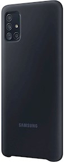 Samsung Silicone Cover Black Samsung Galaxy A51