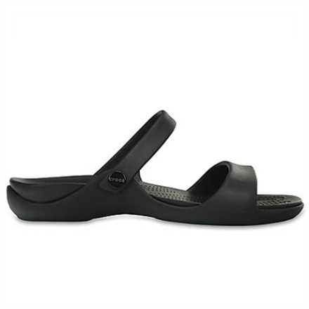 Crocs Women's Cleo V Sandaler Black