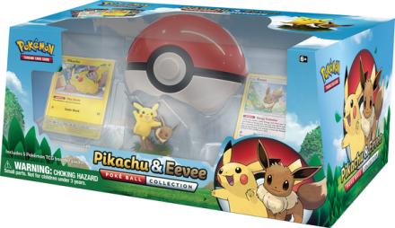 Pokémon TCG: Pikachu og Eevee Poké Ball sæt - ToysRUs.dk