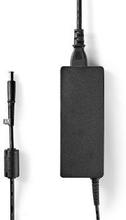 Nedis Adapter för bärbar dator 90 W | 7.4 x 5.0 mm centreringsstift | 18.5 V/4.9 A | Används till HP | Nätkabel ingår