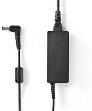 Nedis Adapter för bärbar dator 60 W | 6.5 x 4.4 mm centreringsstift | 19 V/3.16 A | Används till FUJITSU | Nätkabel ingår