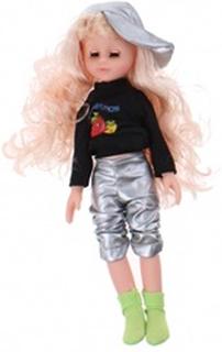 teenage pige Fashion Girl 34 cm piger sølv