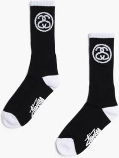 Stussy - Ss Link Socks - Svart - ONE SIZE