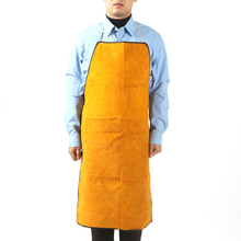 Car Welding Sleeves Unisex Protective Welding Anti-fouling Oil-proof Acid And Alkali Resistant Cowhide Apron