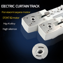 Electric Curtain track for Xiaomi aqara /Dooya KT82/DT82 motor Customizable Super Quite for smart home