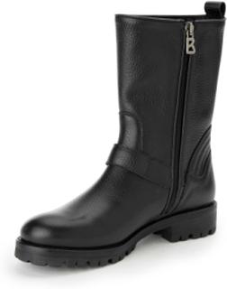 Kängor för kvinnor, modell New Meribel 2 1B från Bogner svart
