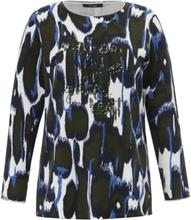Rundhalsad tröja från FRAPP mångfärgad