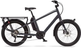 Benno Boost E CX Elsykkel Antracite Grey, Bosch Perf Line CX Cargo