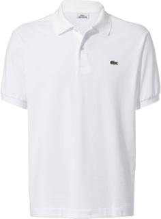 Poloshirt kort ærme Fra Lacoste hvid
