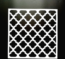 DIY Painting Moroccan Pattern Stencils Template For Wall Furniture Fabric Painting Home Decorative