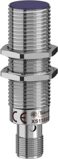 Schneider Electric Induktiv nærhedssensor M18 Flugter med PNP, lukker, Digital XS118BLPAM12
