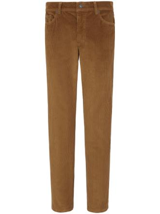 'Comfortable Fit'-fløjlsbuks Fra Brax Feel Good brun - Peter Hahn