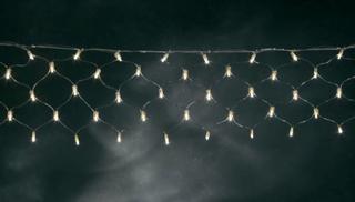 Konstsmide Lysnet Udvendigt 24 V 160 Glødepære Varm hvid (B x H) 300 cm x 20 cm