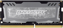 Crucial Ballistix Sport LT 8GB DDR4 2400MHz (PC4-19200) CL16 DR x8 Unbuffered SODIMM 260pin Grey