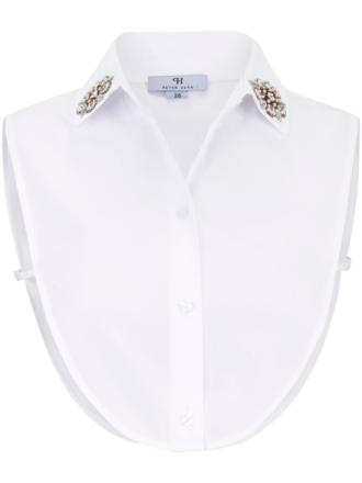 Skjortekrave Fra Peter Hahn hvid