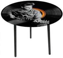 Bord / Glasbord Elvis Presley 50x50 cm